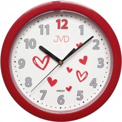 Nástenné hodiny JVD sweep HP612.D3, 25cm