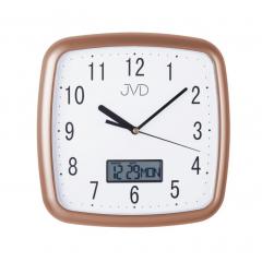 Nástenné hodiny JVD DH615.5, Rose 25cm