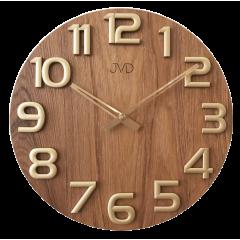 Nástenné hodiny drevené JVD HT97.5, 40cm