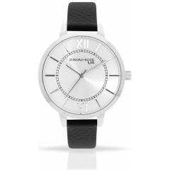 Náramkové hodinky JVD SUNDAY Rose Classic FOREVER BLACK