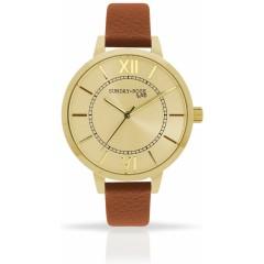 Náramkové hodinky JVD Sunday Rose Classic GOLDEN BROWN