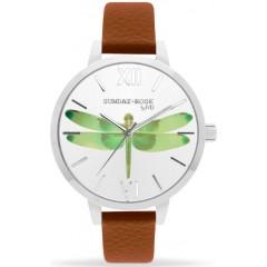 Náramkové hodinky JVD SUNDAY Rose Alive FLY DRAGONFLY!