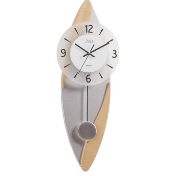 Dizajnové kyvadlové nástenné hodiny JVD NS18009/68, 60cm