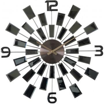 Luxusné zrkadlové hodiny JVD HT100.2, 50cm