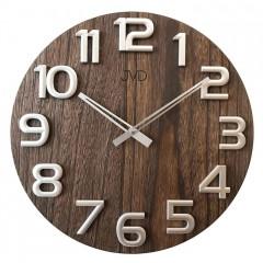 Nástenné hodiny drevené JVD HT97.3, 40cm