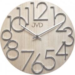 Nástenné hodiny drevené JVD HT99.2, 30cm