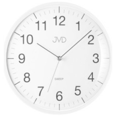 Nástenné hodiny JVD HA16.5, sweep, 33cm