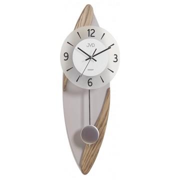 Dizajnové kyvadlové nástenné hodiny JVD NS18009/78, 60cm