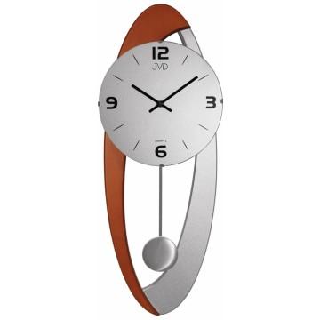 Dizajnové kyvadlové nástenné hodiny JVD NS15021/ 41, 58cm