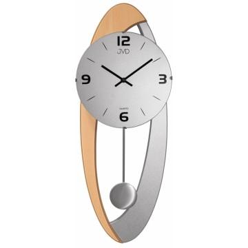 Dizajnové kyvadlové nástenné hodiny JVD NS15021/ 68, 58cm