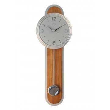 Dizajnové kyvadlové nástenné hodiny JVD NS17014/11, 63cm