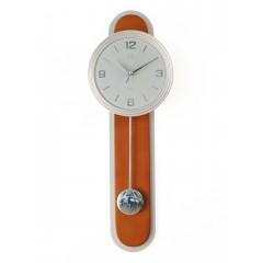 Dizajnové kyvadlové nástenné hodiny JVD NS17014/41, 63cm