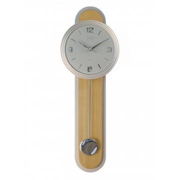Dizajnové kyvadlové nástenné hodiny JVD NS17014/68, 63cm