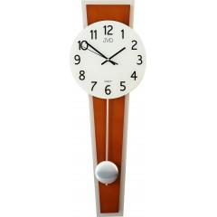 Dizajnové kyvadlové nástenné hodiny JVD NS17020 / 41, 63cm