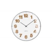 Biele hodiny LAVVU HARMONY, LCT4030