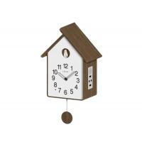 Drevené kukučkové hodiny so svetelným senzorom LAVVU CUCKOO LCT4020