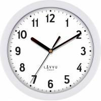 Nástenné hodiny LAVVU BASIC LCS2020 White, 25cm