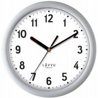 Nástenné hodiny LAVVU BASIC LCS2021 Metallic Silver, 25cm