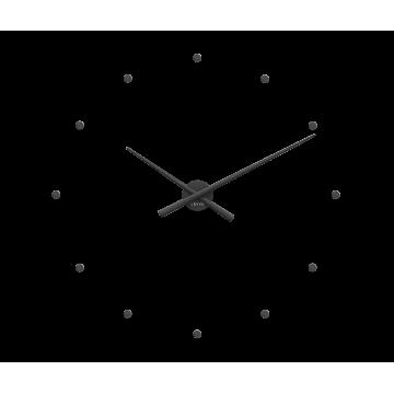 Nalepovacie hodiny LAVVU LCT1021 3D STICKER Black Dots