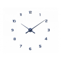 Nalepovacie hodiny LAVVU 3D STICKER Blue Numerals LCT1172