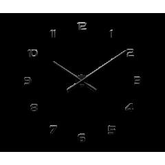 Nalepovacie hodiny LAVVU 3D STICKER Black Numerals LCT1170