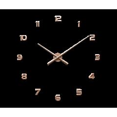 Nalepovacie hodiny LAVVU 3D STICKER Rose Numerals LCT1173