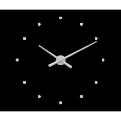 Nalepovacie hodiny LAVVU LCT1020 3D STICKER Silver Dots
