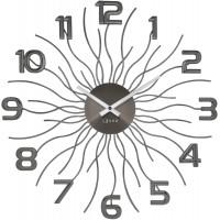 Nástenné hodiny LAVVU Sun LCT1242 antracit, 49 cm