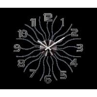 Nástenné hodiny LAVVU Sun LCT1222 antracit, 49 cm
