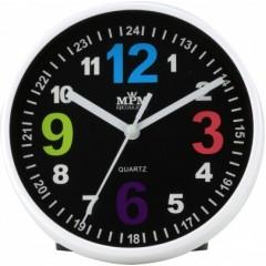Nástenné hodiny MPM, 3685.90 - čierna, 15cm