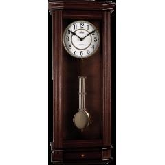 Drevené nástenné hodiny s kyvadlom MPM E03.3892.54, 62cm