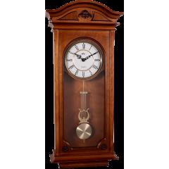 Drevené nástenné hodiny s kyvadlom MPM E03.3893.50, 72cm