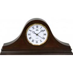 Stolové hodiny MPM, 2708.52 - hnedá tmavá, 38cm