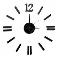 Nalepovacie nástenné hodiny, MPM 3658/12 BK, 50cm