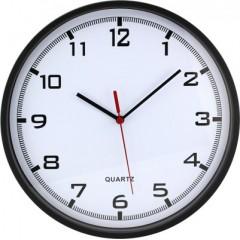 Nástenné hodiny MPM, 2478.90.A - čierna, 26cm