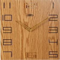 Nástenné hodiny PRIM Wood Touch I E07P.3954.51, 40cm