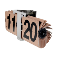 Preklápacie hodiny JVD HF18.2, 36cm