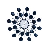 Nástenné hodiny Crystal Shell 50cm