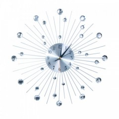 Nástenné hodiny Crystal Shine, 50cm