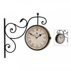 Nástenné hodiny obojstranné Fluer, WUR1599, 24cm