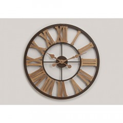 Nástenné hodiny Vintage, Roman numbers,  Wur3339, 60cm